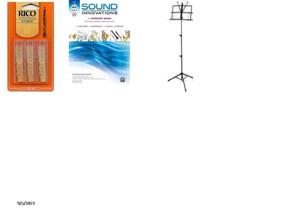Bb Clarinet Sound Innovation School Acc. Pkg # 2