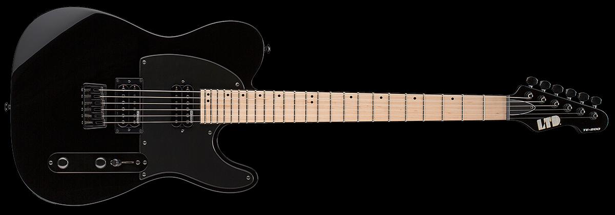 ESP LTD Guitar TE-200 Black