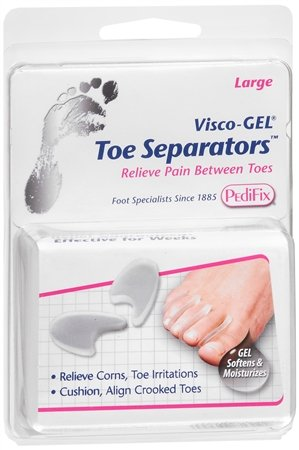 VISCO GEL TOE SEPARATOR LARGE