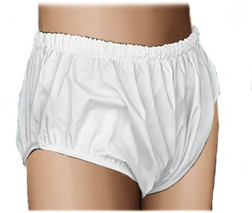 QUIK-SORB VINYL PULL ON PANTS XLGE