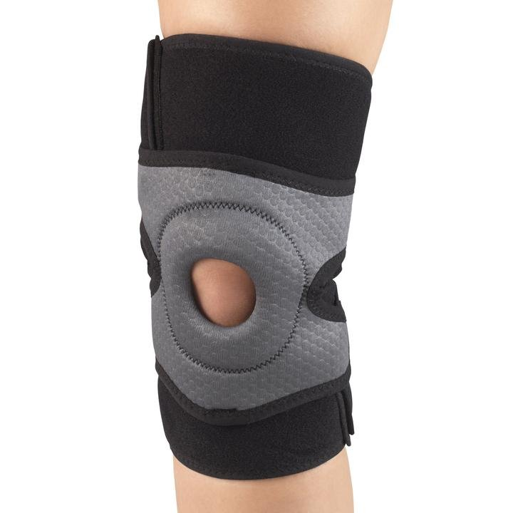 MULTI LAYER KNEE WRAP W/ STABILIZER PAD