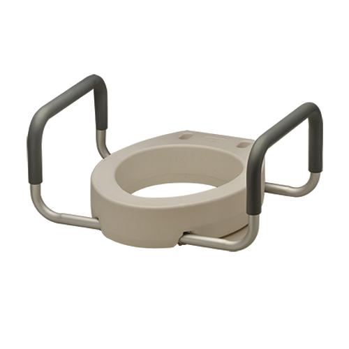TOILET SEAT RISER W/ ARMS ROUND 8344-R