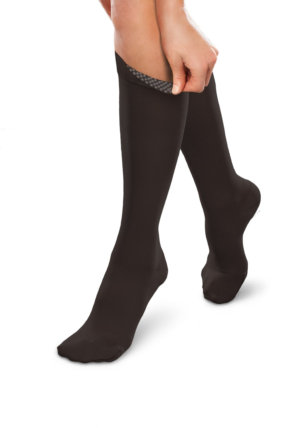EASE 20-30 UNISEX KNEE HIGH w/SILICONE BAND