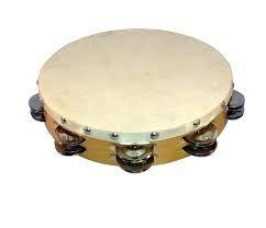 Wood Tambourine
