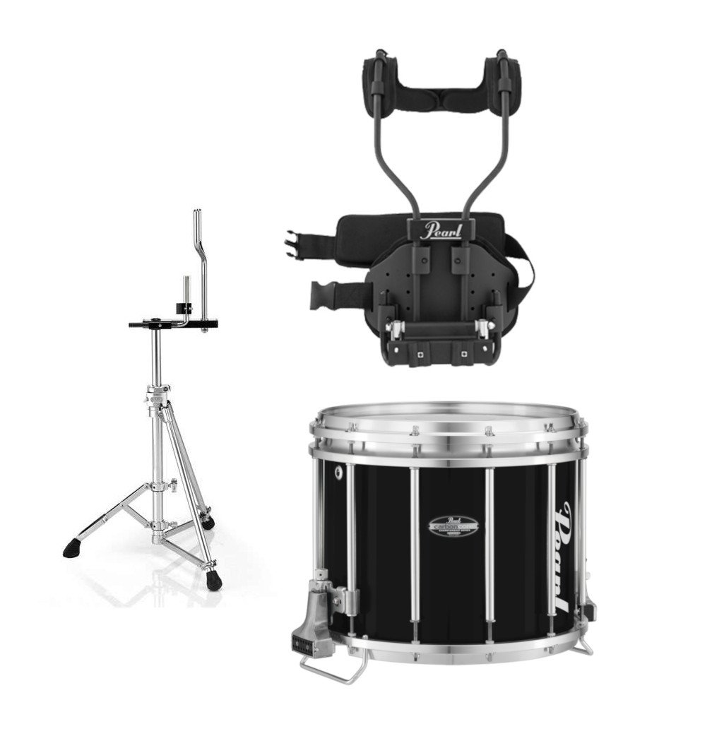 Pearl CarbonCore Series FFX Marching Snare Drum Package