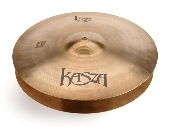 Kasza Cymbals F-Series 14 Light Top/Medium Bottom Hi-Hats