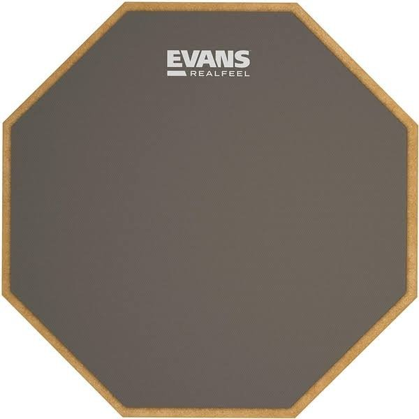 RealFeel By Evans Practice Pad 12 Inch - Single Sided