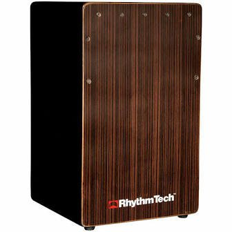 RhythmTech Cajon Black Enhanced Bass Port