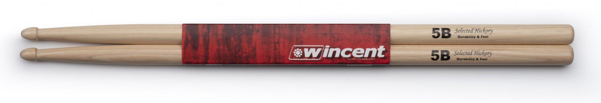 Wincent 5B Hickory Drumsticks