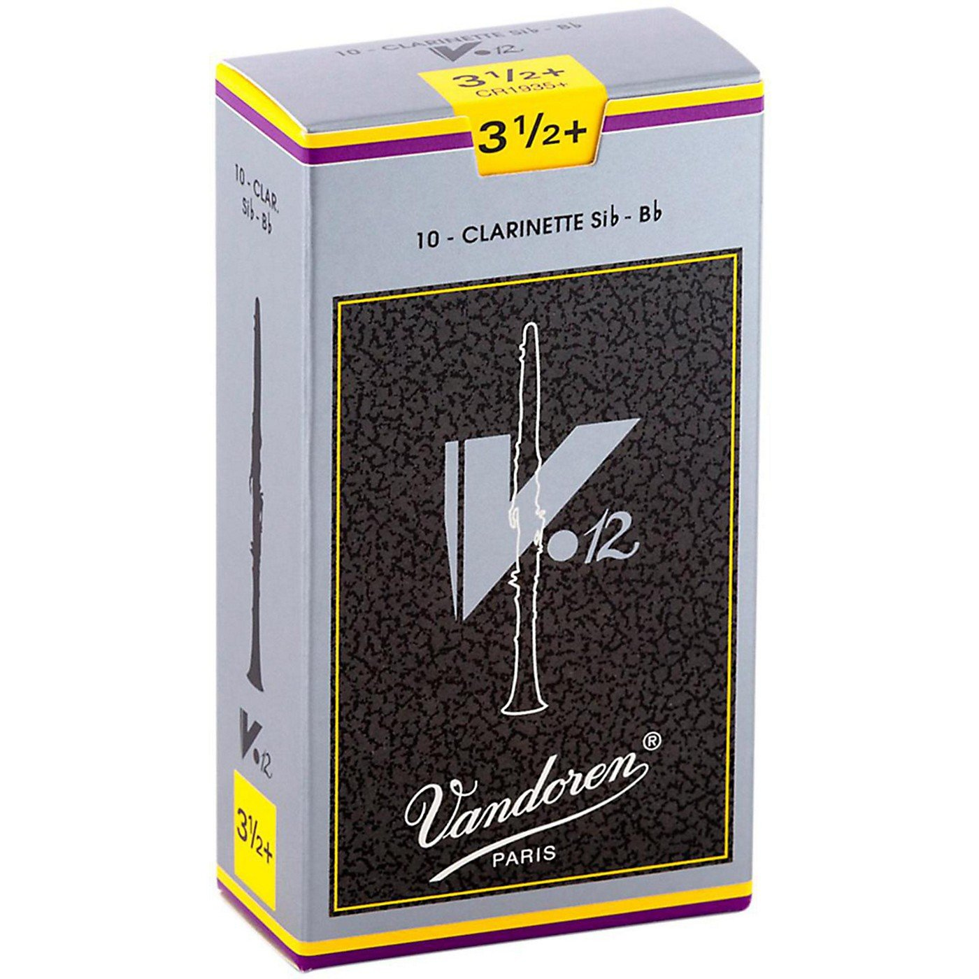 Vandoren V12 Bb Clarinet Reeds Strength Box of 10