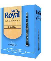 Rico Royal Clarinet Reeds Box of 10
