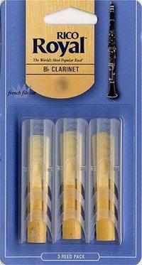 Rico Royal 3PK Clarinet Reeds