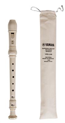 Yamaha YRS-24B Soprano Recorder with Baroque Fingering
