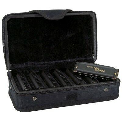 Hohner PBH7 Piedmont Blues Harmonica Set - 7 Harmonicas with Case