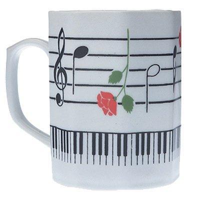 Coffee Mug - Keyboard Rose