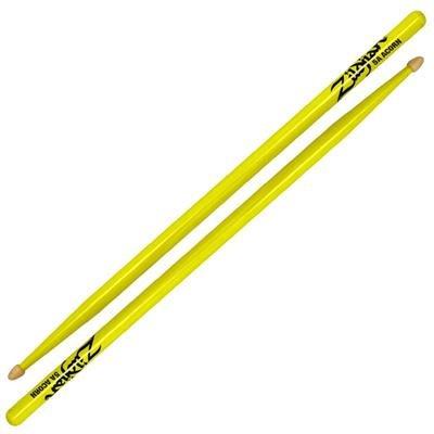 Zildjian 5A Yellow Drum Sticks - Wood Tip