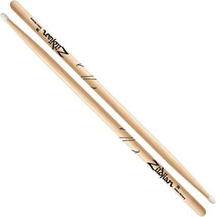 Zildjian 7AN Hickory Drum Sticks - Nylon Tip