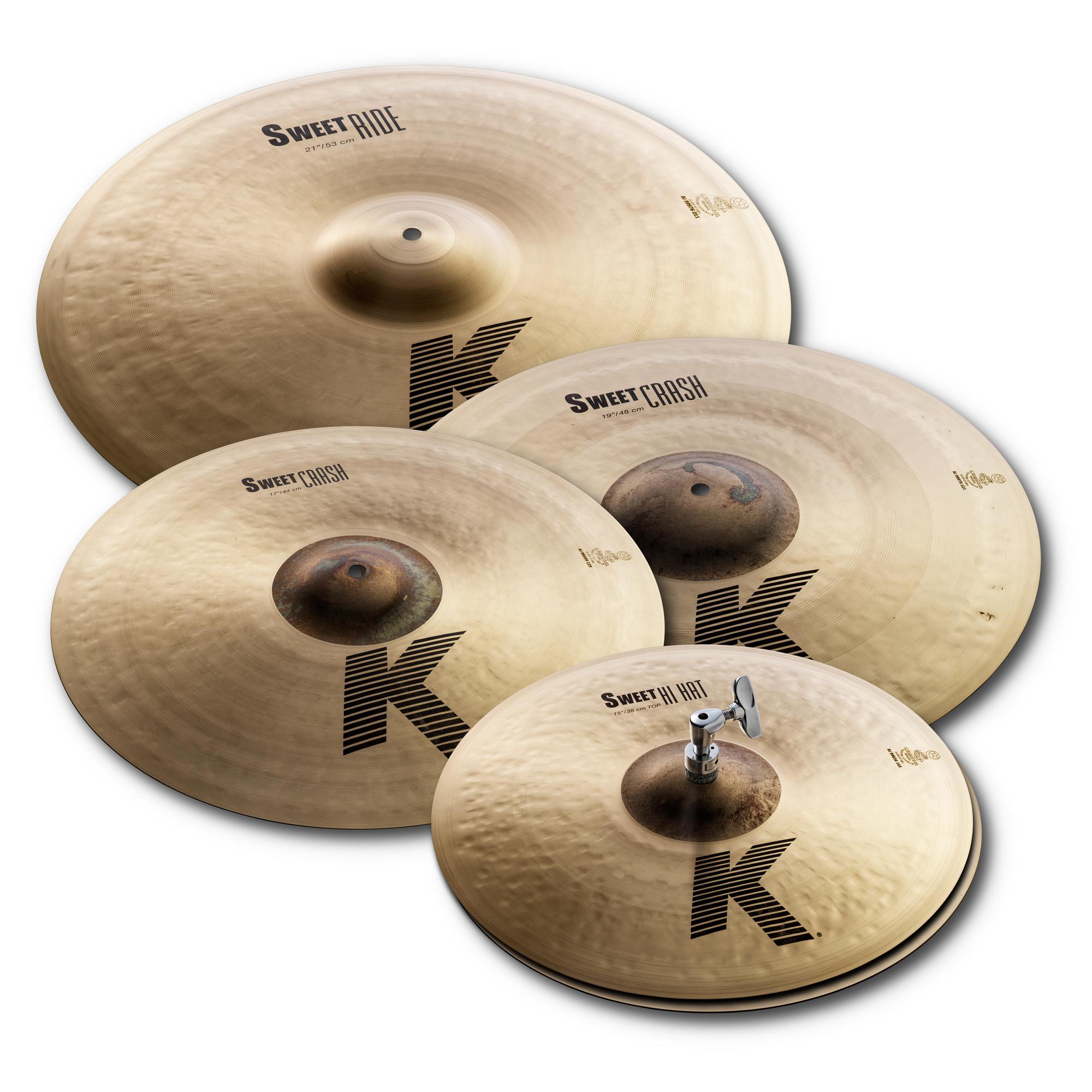 Zildjian K Sweet Cymbal Pack - 15, 17, 19, 21 - KS5791