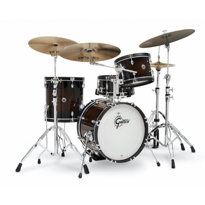 Gretsch Catalina Special Edition 4pc Drum Set 18/12/14/14x5.5 - Walnut Burst