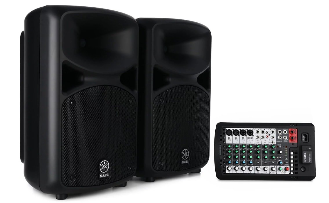 Yamaha Stagepas Portable PA System with Bluetooth - 600BT