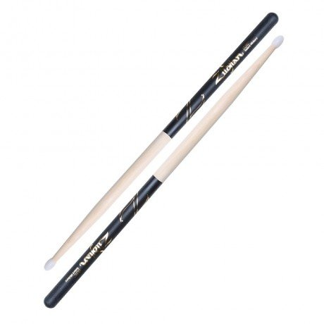 Zildjian 5B Dip Hickory Drum Sticks - Nylon Tip