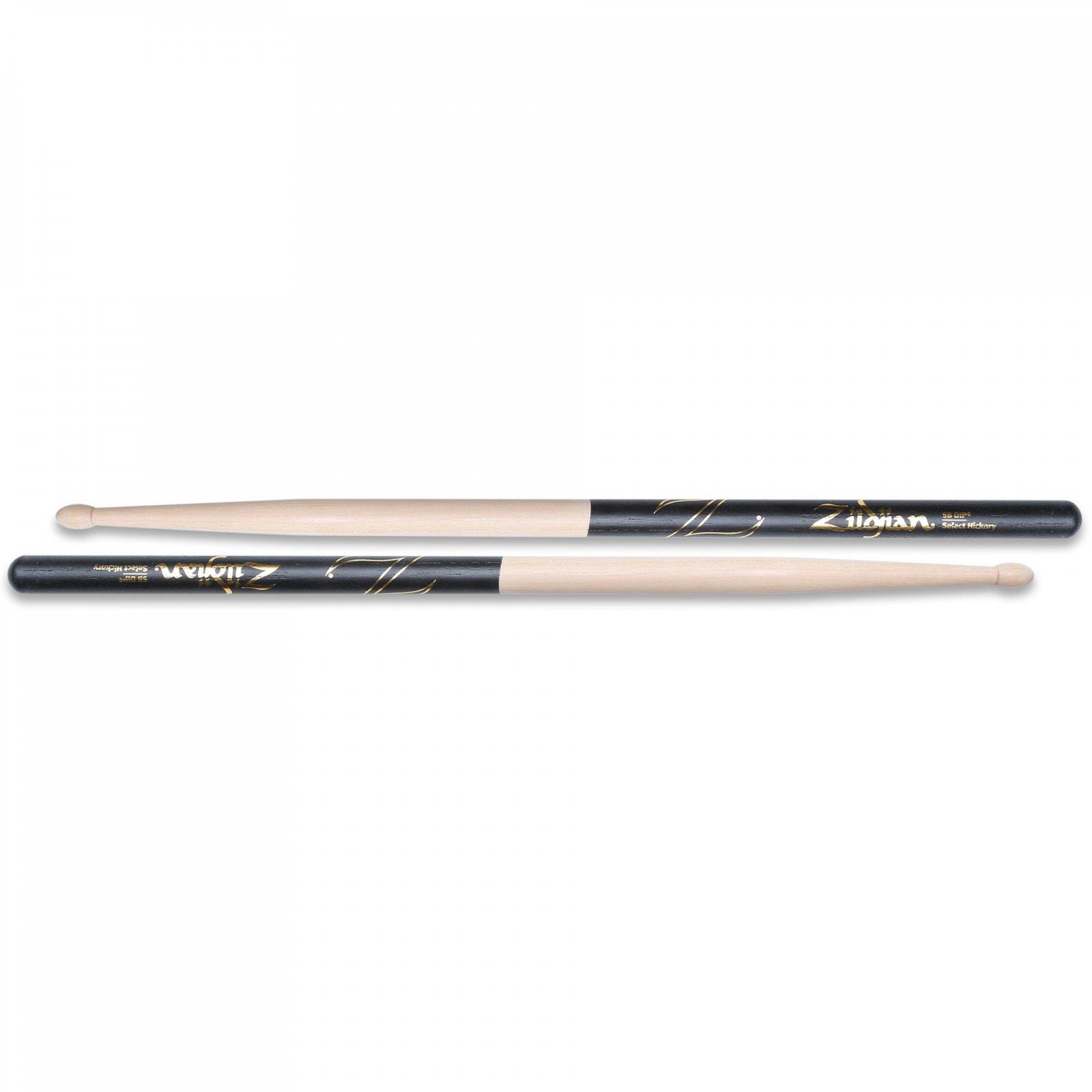 Zildjian 5B Dip Hickory Drum Sticks - Wood Tip