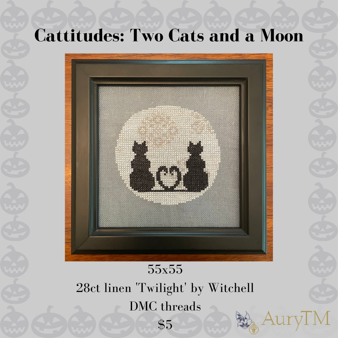 2 Cats and a Moon chart - AuryTM