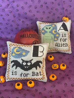Thread pack for Halloween Alphabet charts - Romy's Creations