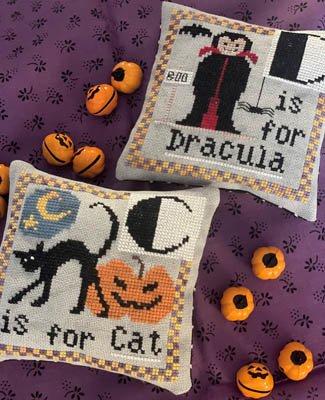 Halloween Alphabet C/D chart - Romy's Creations
