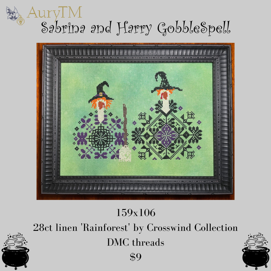 Sabrina & Harry GobbleSpell chart - AuryTM