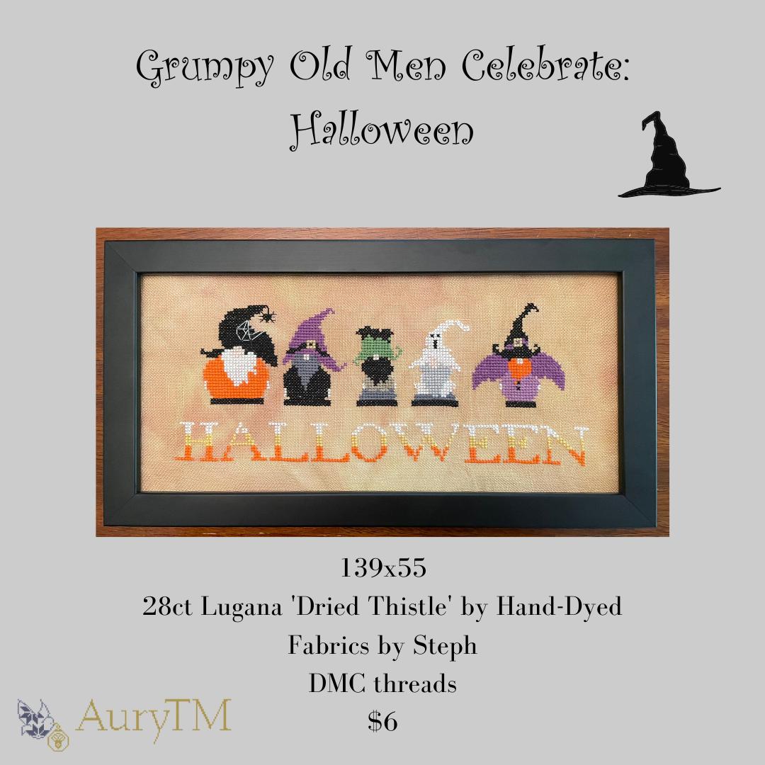 Grumpy Old Men Celebrates Halloween - AuryTM