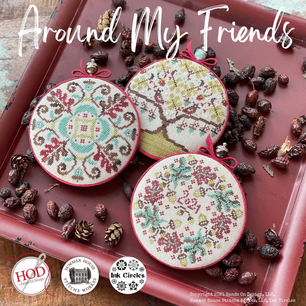 Around My Friends chart - collaboration