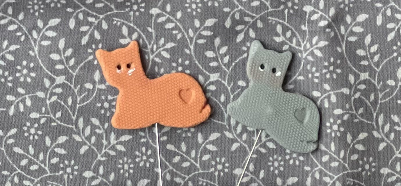 PINS for Cats and Coffee - Romy's Creations