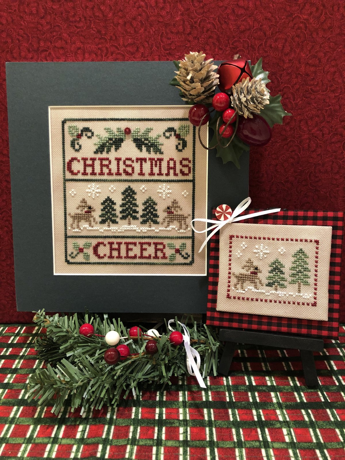 Christmas Cheer chart - Scissor Tail Designs