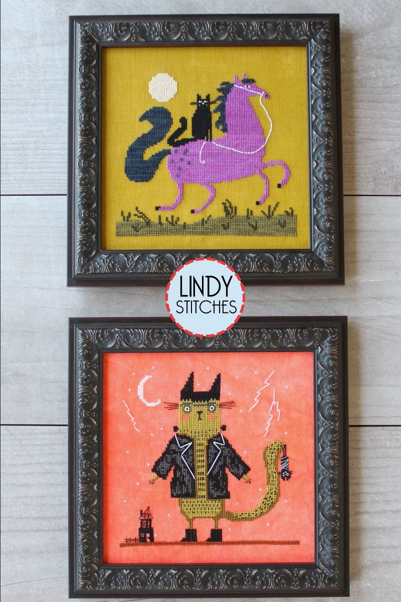 Halloween Tails chart - Lindy Stitches