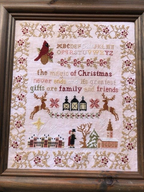 Holy Night at Huxby Abbey chart - Twin Peak Primitives