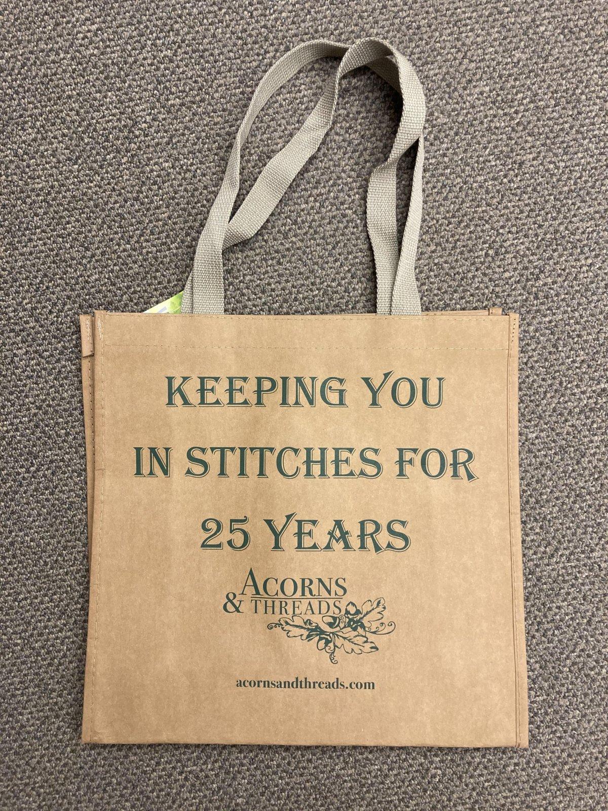Anniversary washable paper bag