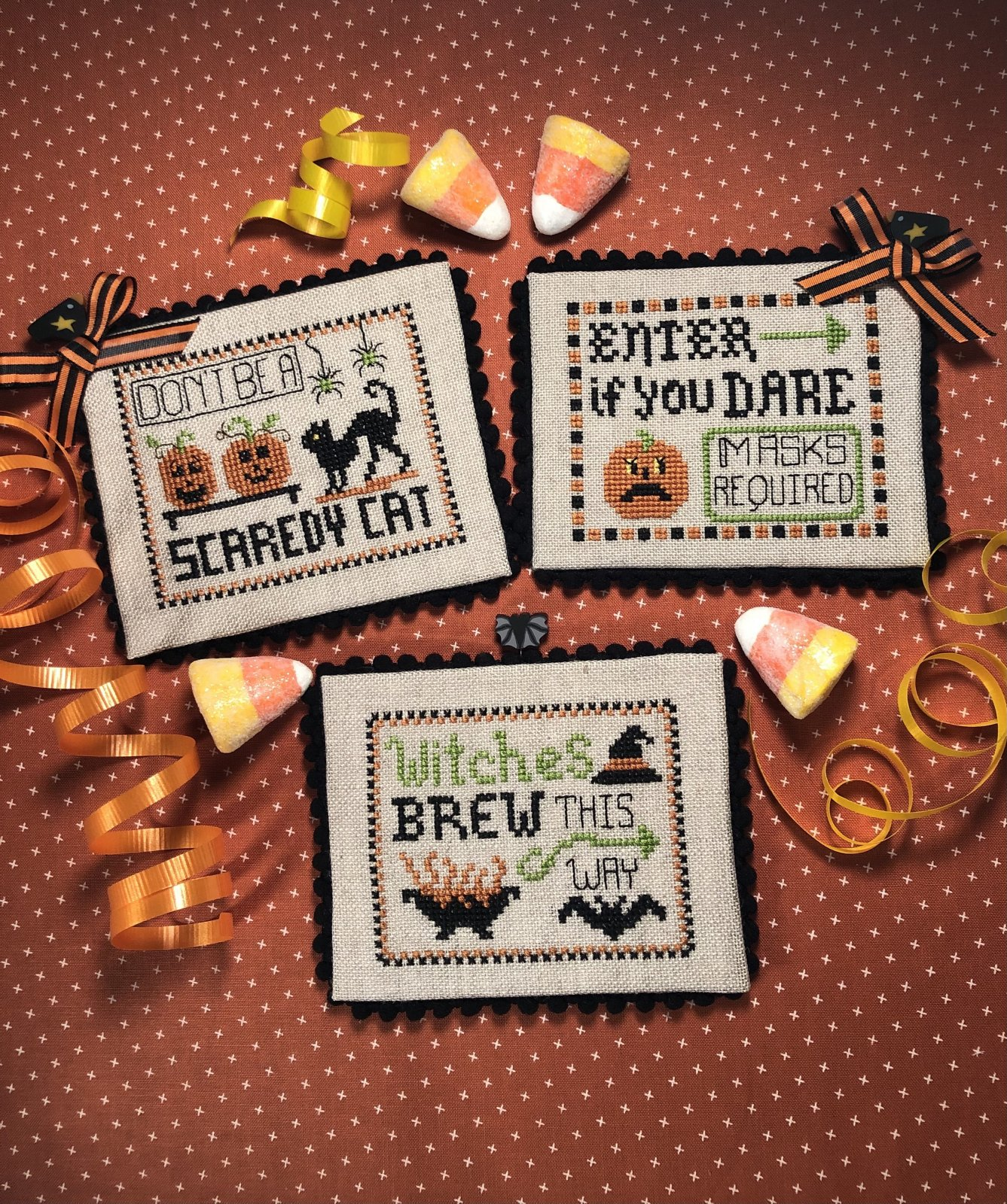 Halloween Party Signs chart - Scissor Tail Designs