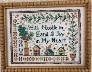 Needle in Hand chart - Hello from Liz Mathews