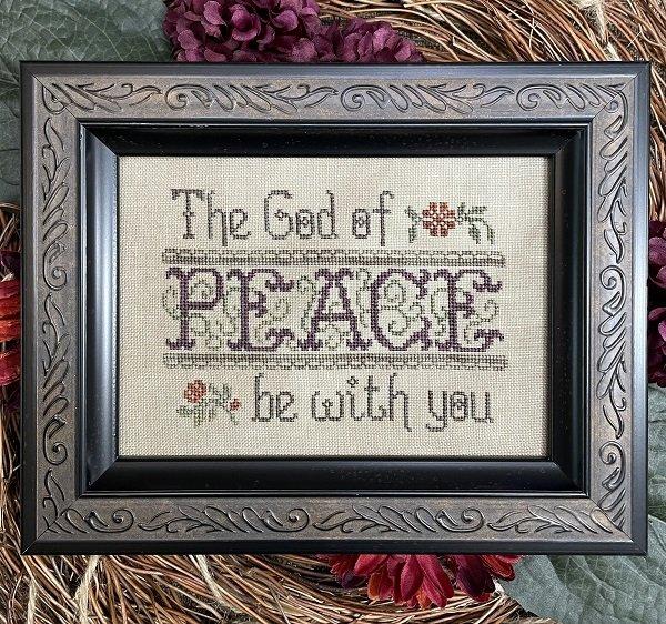 The God of Peace chart - My Big Toe