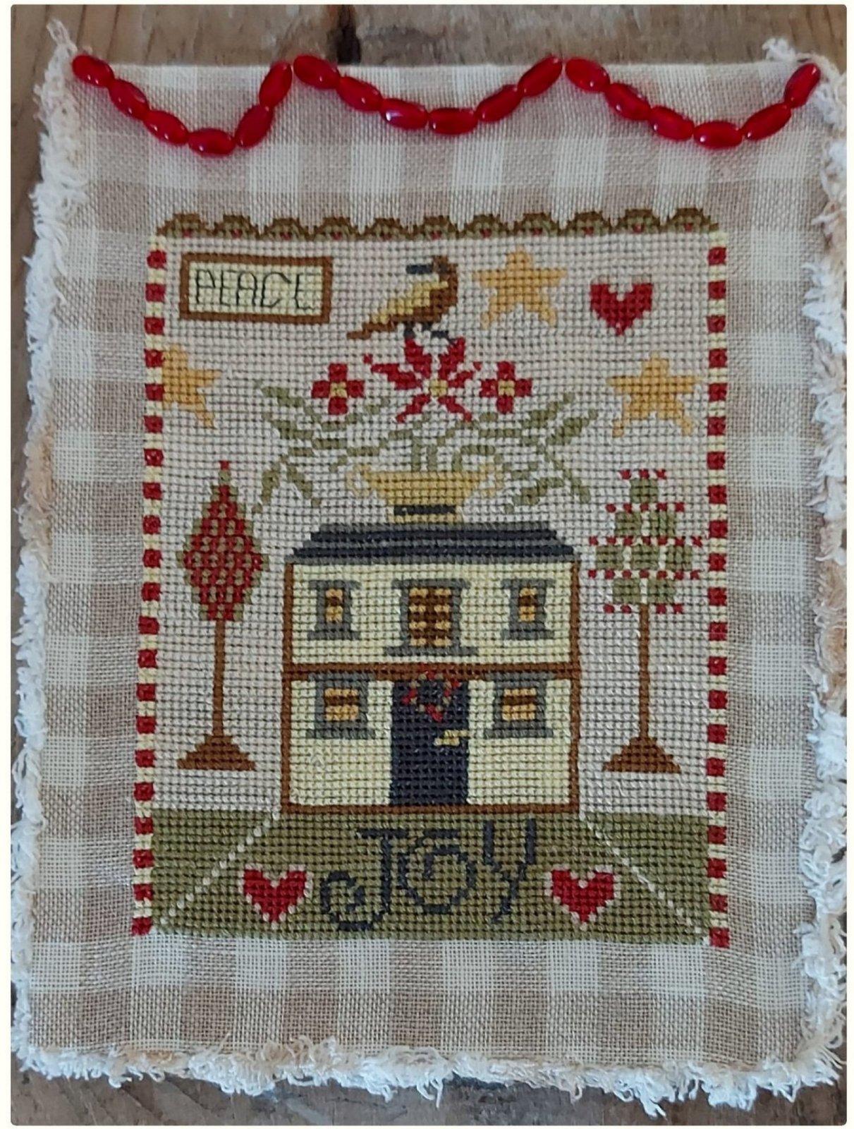 Christmas House chart - Nikyscreations