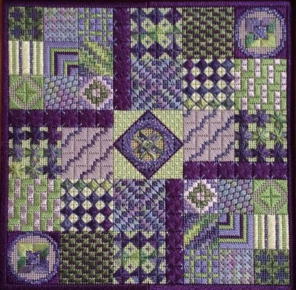 Amethyst Garden chart - Needle Delights