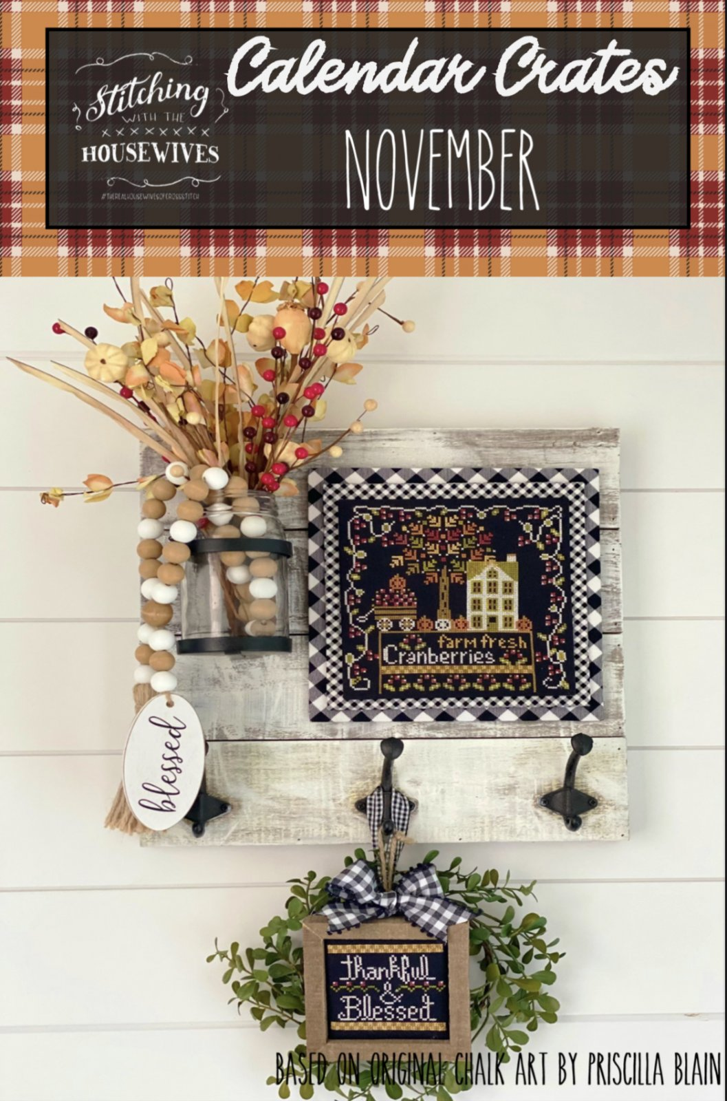 November Calendar Crates chart - Stitching with the Housewives