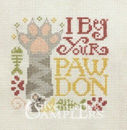 Beg Your Pawdon chart - Silver Creek Samplers