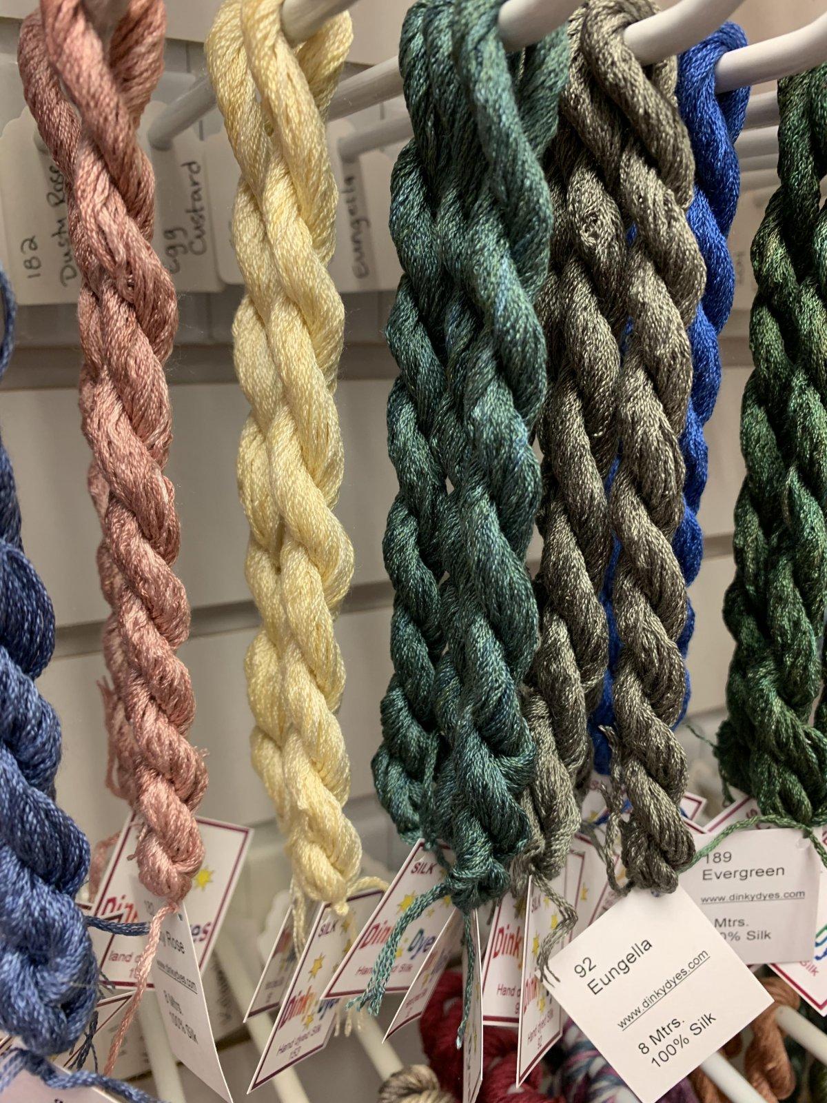 DInky Dyes (DD) Silk