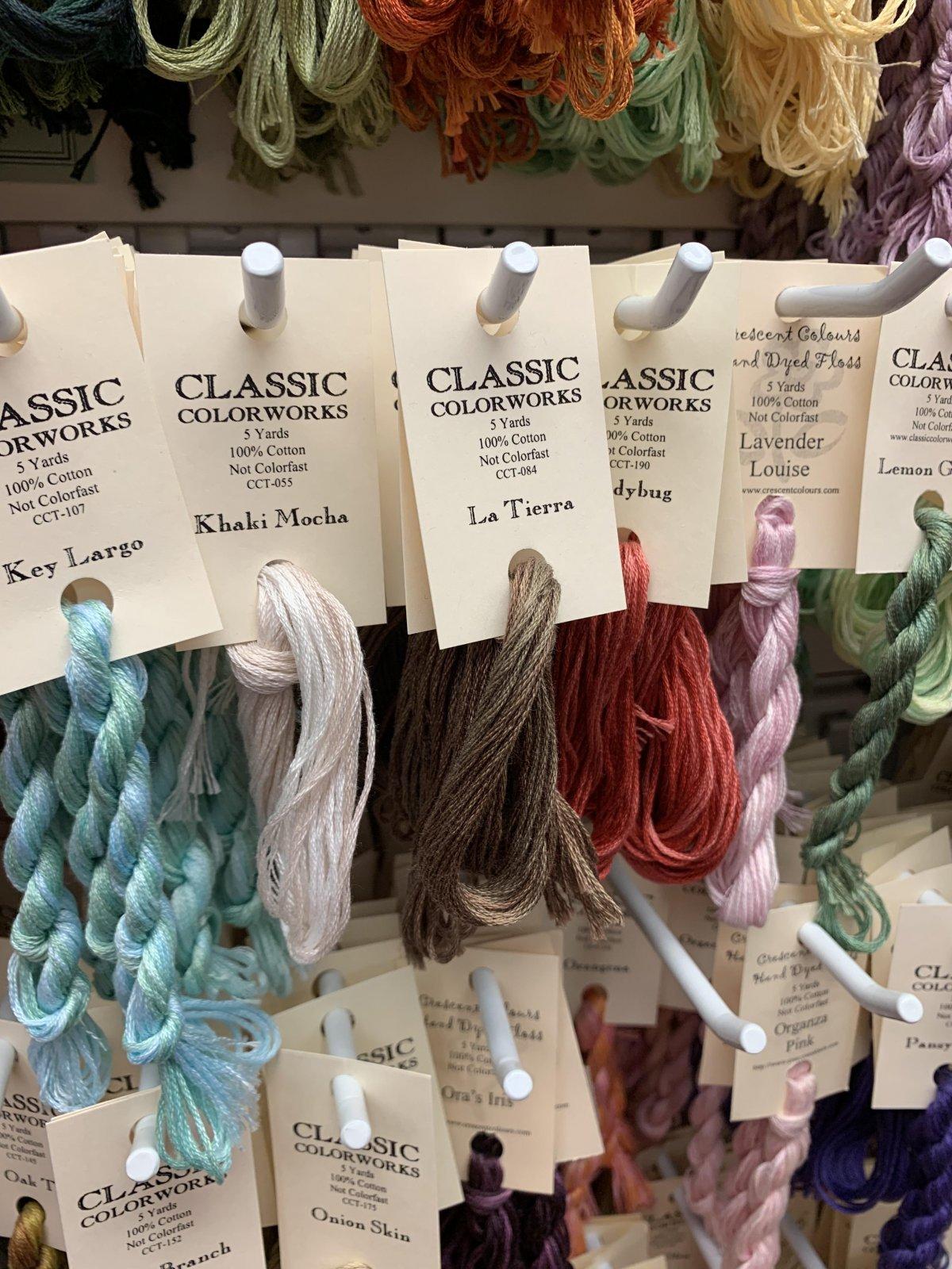 Classic Colorworks (CC) Cotton Floss