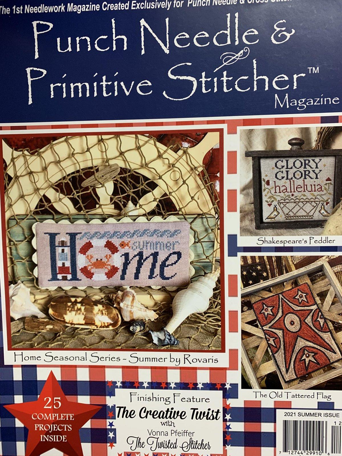 Punch Needle & Primitive Stitcher  Summer 2021 magazine