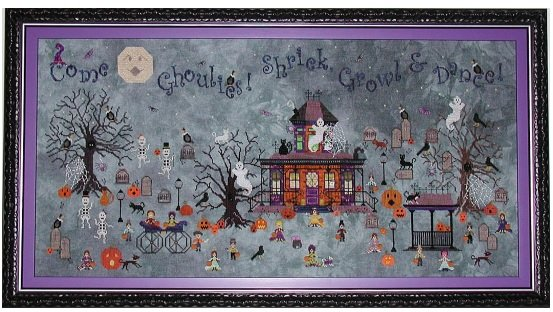 Ghoul's Crossing chart - Praiseworthy Stitches