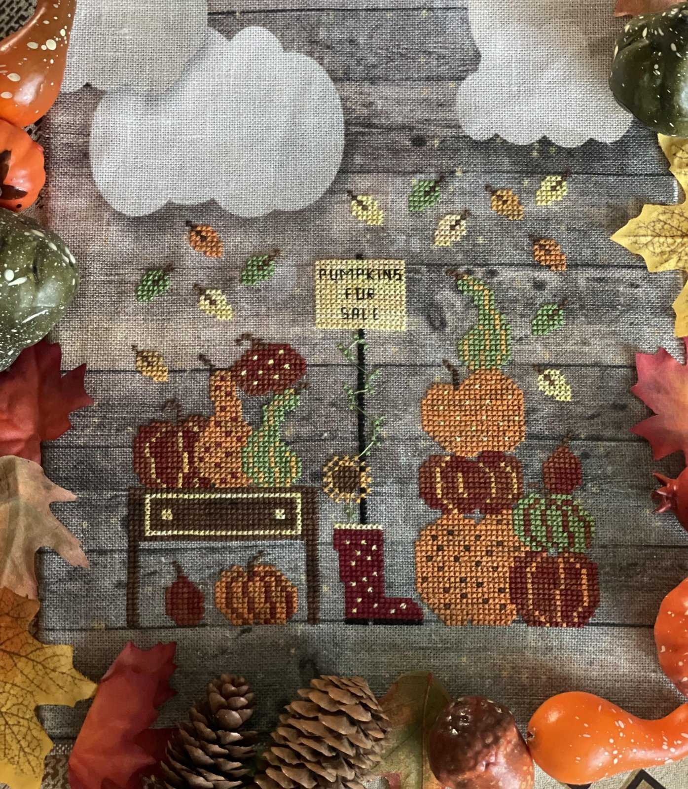 Pumpkins for Sale chart - Romy's Creations