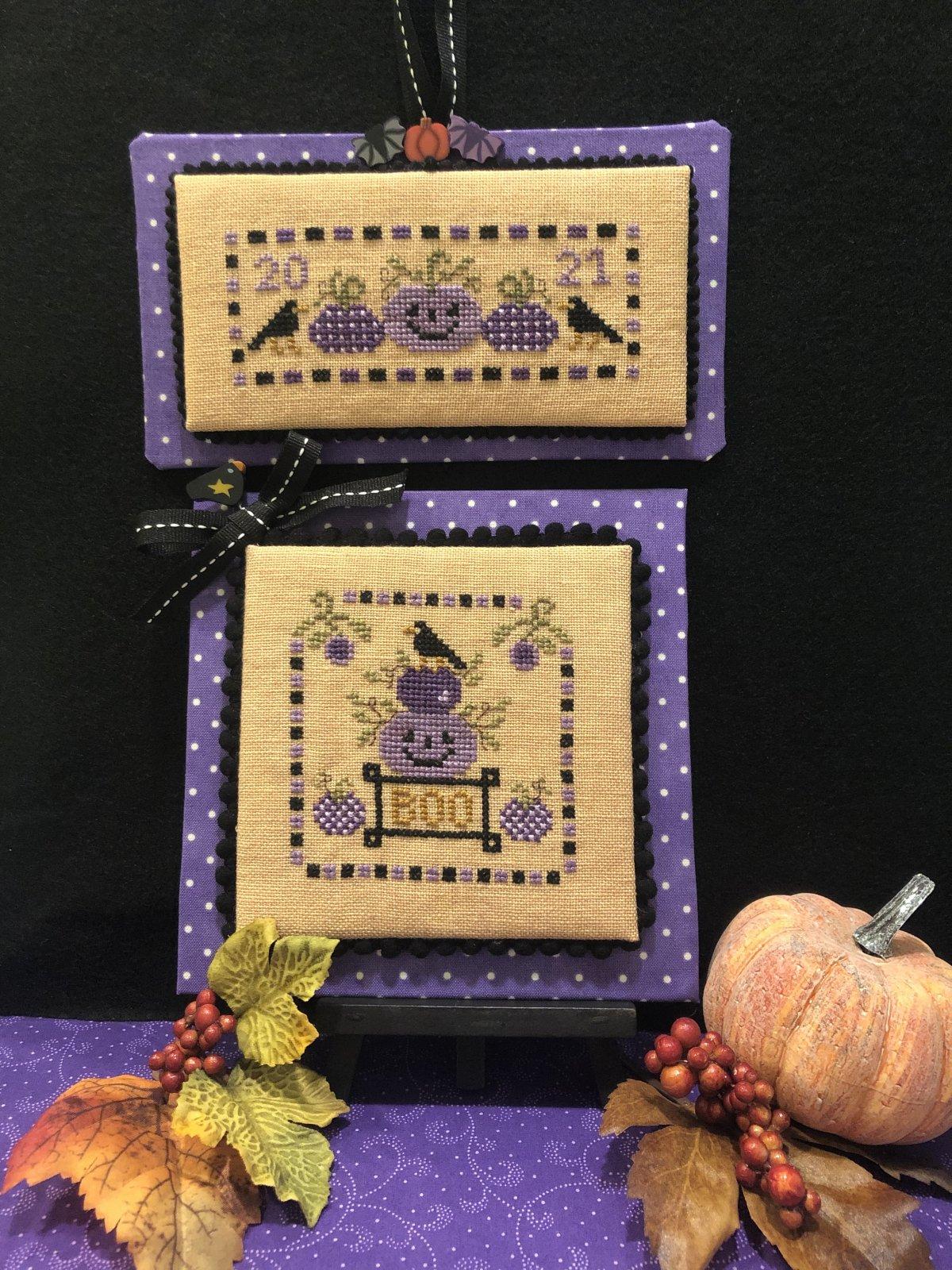 Purple Pumpkin Patch chart - Scissor Tail Designs